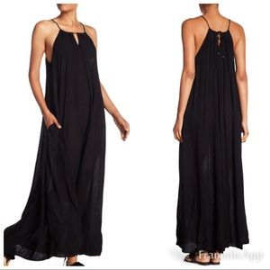 VELVET Graham & Spencer • Hattie Black maxi dress